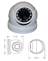 Камера LUX 4138 NB Sharp 700 TVL