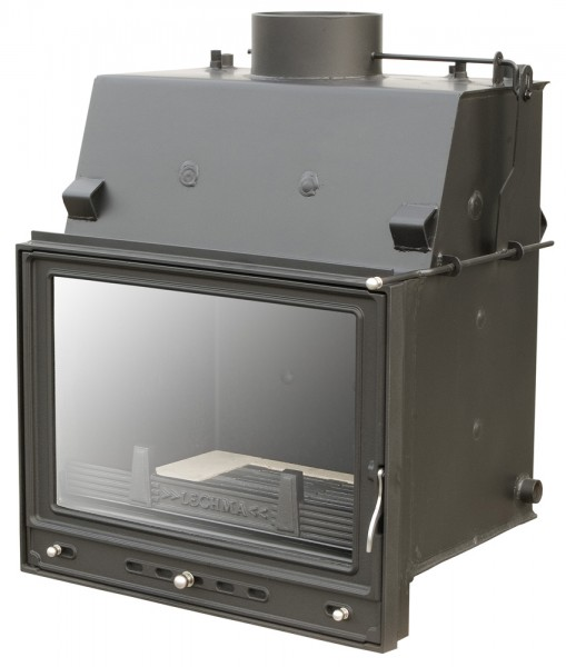 Камин с водяным контуром Лехма. Мощность 19 кВт. Непрерывное горение.
