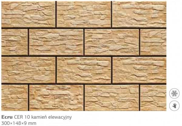 Камень фасадный Cer 10 300x148x9