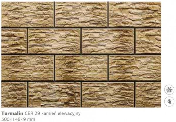 Камень фасадный Cer 29 300x148x9