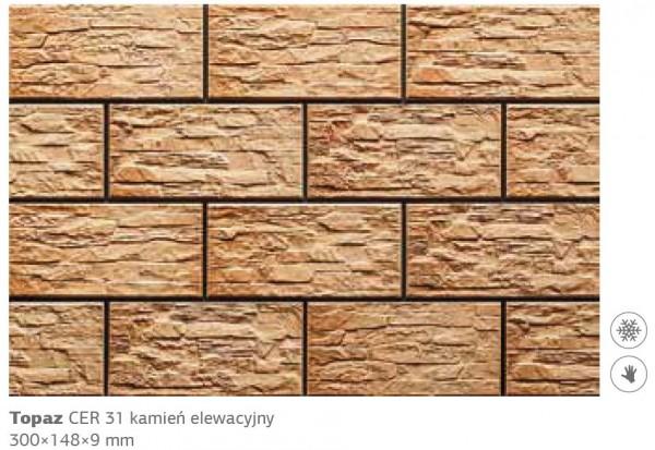 Камень фасадный Cer 31 300x148x9