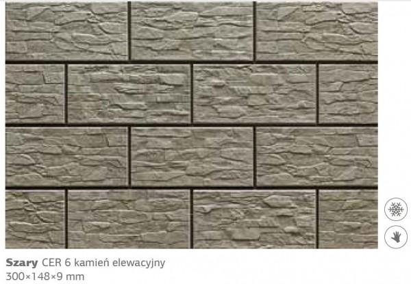 Камень фасадный Cer 6 300х148х9