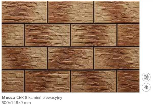 Камень фасадный Cer 8 300х148х9