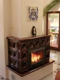 Камины отопительные, отопление дома камином, воздушные системы отопления