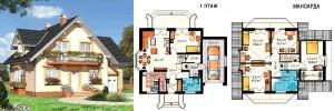 Канадский Дом 167,7 м2 за 364 y. e/м2 . ,проект «КАЯ ЛЮКС» - Технология SIP