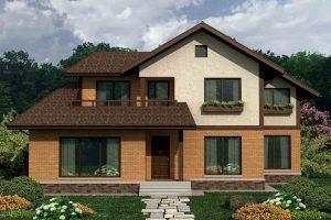 Канадский Дом 205,0 м2 за 106 600 У.Е., проект «УДАЧНЫЙ» - Технология SIP