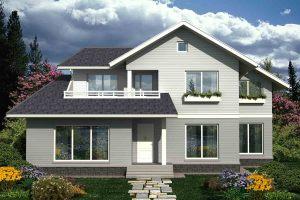 Канадский Дом 205,0 м2 за 82 000 У.Е., проект «УДАЧНЫЙ» - Технология SIP