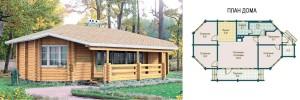 Канадский Дом 76,0 кв.м за 34 960 У.Е. проект «Лесной» - Технология SIP