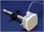 Канальный датчик влажности и температуры с выходным сигналом 0. .10В ДТВК-01-010
