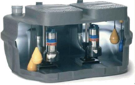 Канализационная установка Pedrollo SAR 550-MCm 10/50