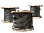 Канаты(троса, в оплетке ПВХ) стальные от 0,9-52,0мм всех ГОСТов 2688-80, 7668-80, 7669-80, 3063-80, 3062-80, 16853-80