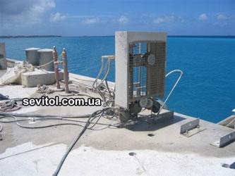 Канатная резка бетонных массивов оборудованием Тиролит