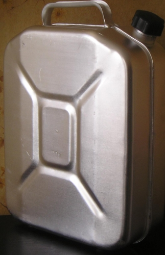 Канистра стальная и аллюминиевая 5-10-20л