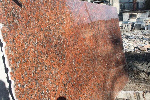 Фото  1 Гранитные слябы Капустинского месторождения 3 см 136496