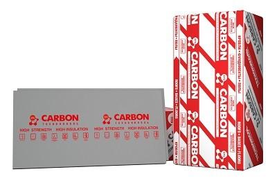 Плита пенополистирольная XPS CARBON ECO Г4 580*1180*30 мм.