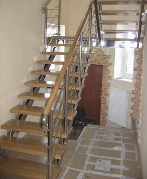 Каркасы лестниц из нержавеющей стали ( итальянская пищевая нержавейка).