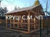 Фото 1 каркасний будинок деревяний 338391