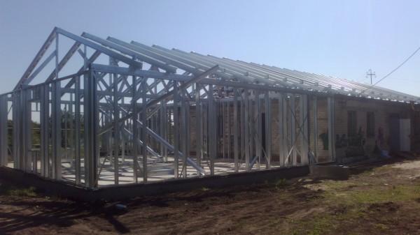Каркасное строительство из ЛСТК