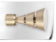 Карниз металический кованый с окончанием афина длинной от 1м и до 20ти метров.