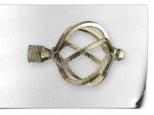 Карниз металический кованый с окончанием ажур длинной от 1м и до 20ти метров.