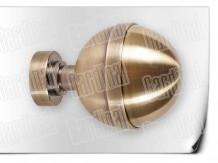 Карниз металический кованый с окончанием калисто длинной от 1м и до 20ти метра.