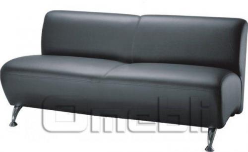 Каролина диван двухместный Неаполь Черный N 20 A31062