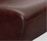 Каролина диван угловой Мадрас ДК Браун A31106