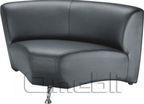 Каролина диван угловой модуль Неаполь Черный N 20 A31019