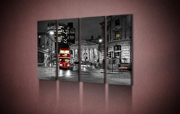 """Картина на холсте """"Улицы Лондона"""" от 590,00 грн"""
