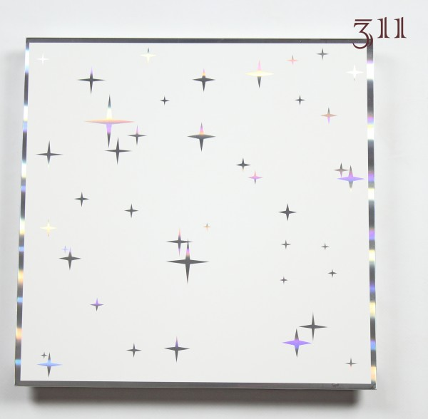 Кассета, арт.311, подвесного алюминиевого потолка