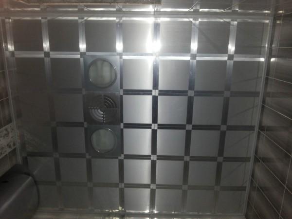 Кассетные алюминиевые подвесные потолки 300х300