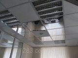 Фото  4 Кассетные потолочные плиты серые RAL 9006, ZN Объемная 2298494