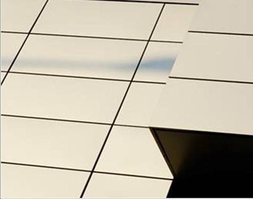 Кассетоны - облицовочный материал для вентилируемых фасадов. Оцинкованная сталь 1,00/1,2/1,5 мм с полимерным покрытием.
