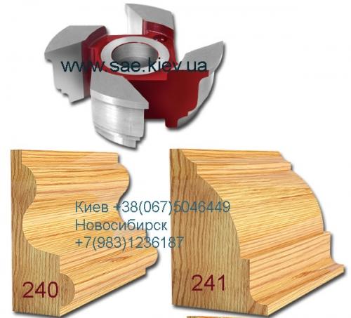 Каталог фрез для доски Американка. Деревообрабатывающий инструмент, склады Киев