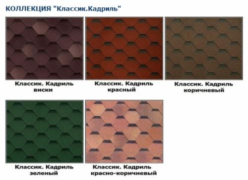 Категория: Российская битумная черепица - Shinglas Страна производитель: Россия; Гарантия производителя: 25 лет.