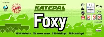 Катепал - гибкая битумная черепица Katepal коллекция Foxy