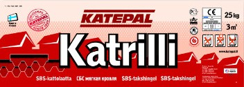 Катепал - гибкая битумная черепица Katepal коллекция Katrilli