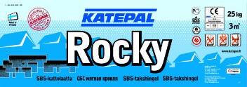 Катепал - гибкая битумная черепица Katepal коллекция Rocky