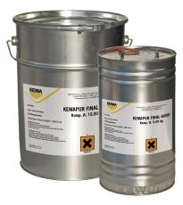 KEMAPUR FINAL 6000 Полиуретановое покрытие Двокомпонентне, тонкошарове поліуретанове покриття