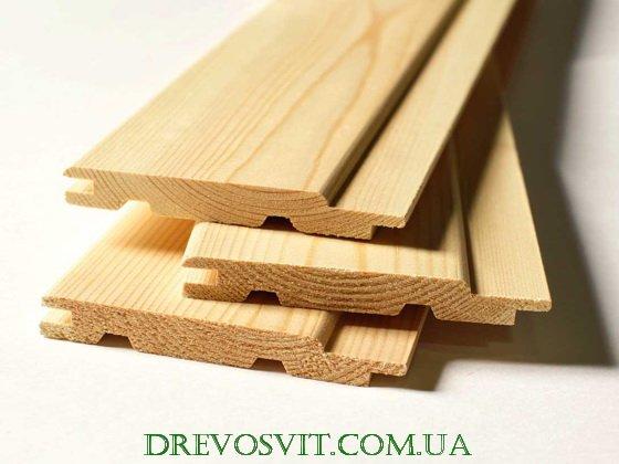 Фото 3 Евровагонка деревянная Киев 316385