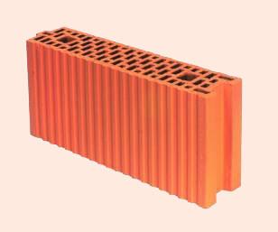 Керамические блоки porotherm 11.5 P+W, 115x498x238 мм