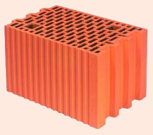 Керамические блоки porotherm 25 P+W, 250x373x238 мм