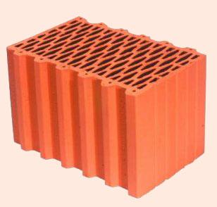 Керамические блоки porotherm 38 P+W, 380 x 248 x 238 мм