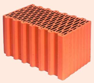 Керамические блоки porotherm 44 P+W, 440 x 248 x 238 мм