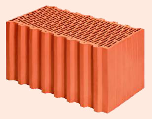 Керамические блоки porotherm 50 P+W, 500x248x238 мм