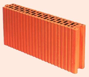 Керамические блоки porotherm 8 P+W, 80x498x238 мм