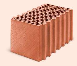 Керамические поризованные блоки  Porotherm, КЕРАТЕРМ, СБК, leier, Евротон.