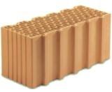 Керамический блок 50 Porotherm для несущих стен