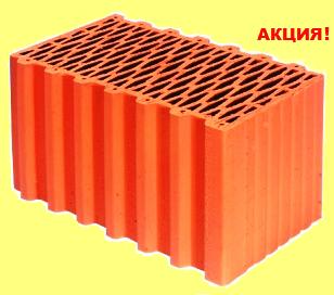 Керамический блок Porotherm 44 P W