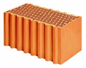 Керамический блок Porotherm 50 P W